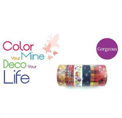 Color paper tape