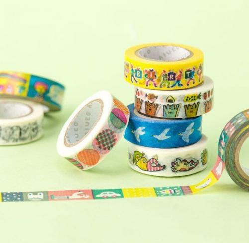 Childlike washi tape