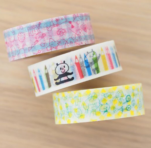Japanese and paper tape customization