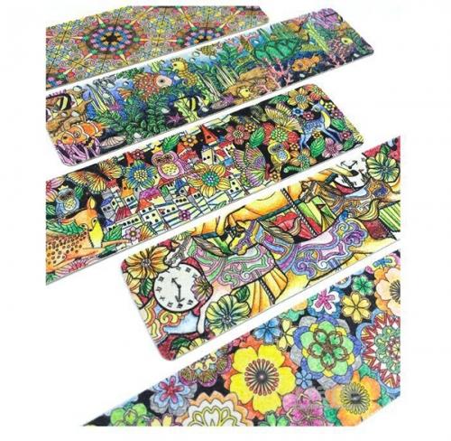 Flower paper tape printing