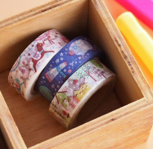 Living paper tape