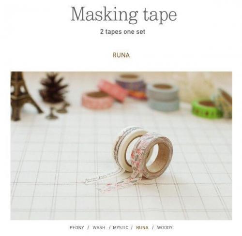 Pattern paper tape