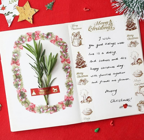 Holiday hand tape