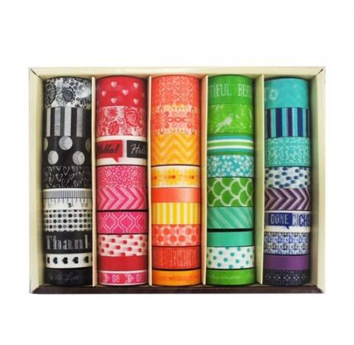 Paper tape gift box