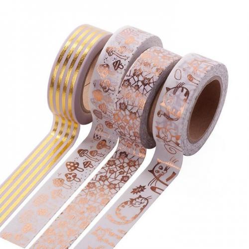 Pattern washi tape customization