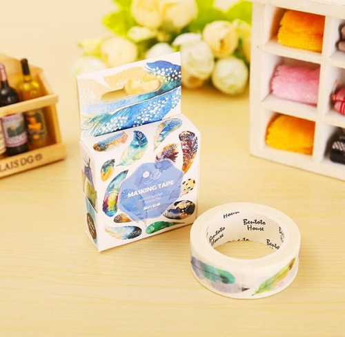 Feather paper tape