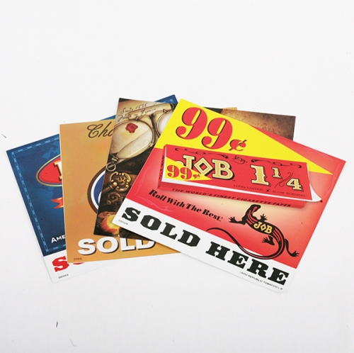 Double-sided printing stickers